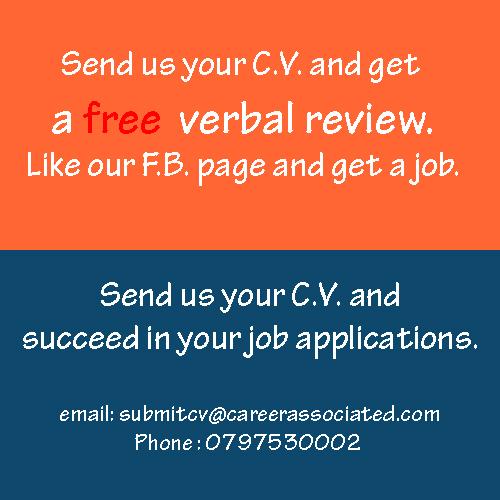 Send us your C.V.
